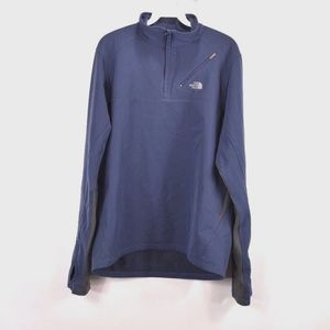 The North Face Mens Medium Half Zip Thermal Jacket